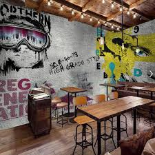 popular graffiti wall mural buy cheap graffiti wall mural lots europe vintage girl boy wallpaper graffiti photo wall mural landscape for bar coffee shop restaurant shop