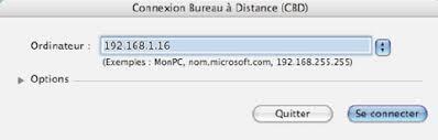 connexion bureau distance pour mac débuter sur mac controler une machine à distance