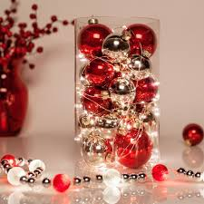cheap christmas table centerpieces the magic of fairy lights for decorating christmas table