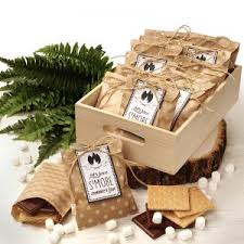 smores wedding favors s mores party favor bags papermart
