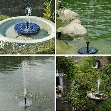 solar powered garden fountain nz home outdoor decoration