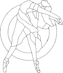 ballerina outline coloring pages coloring sky