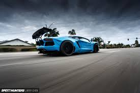 lamborghini aventador modified blue shark attack lb works u0027 aventador speedhunters