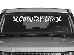 country life windshield decal country life and truck decals country life windshield decal