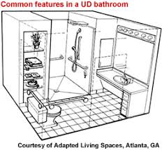 universal bathroom design aging in place gracefully with universal design coalition