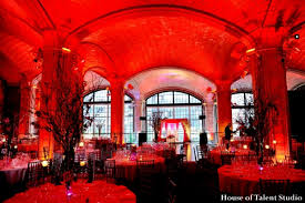 Red Lighting New York City New York Indian Wedding By House Of Talent Studio