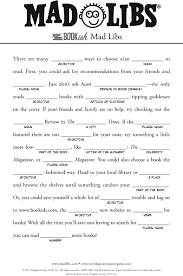 Halloween Quiz For Kids Printable by Halloween Mad Libs Printable For 5th Grade U2013 Festival Collections
