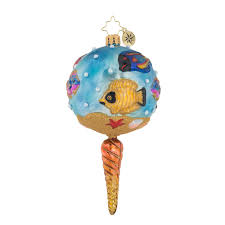 christopher radko ornaments we fish you a merry christmas