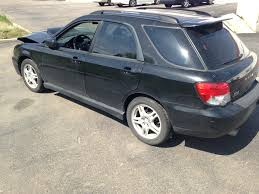 subaru turbo wagon 2004 subaru impreza wrx wagon 5 speed part out