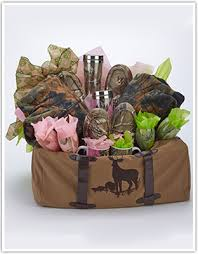for camo gift baskets lakeside