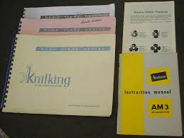antique am3 knitking knitting machine page 2
