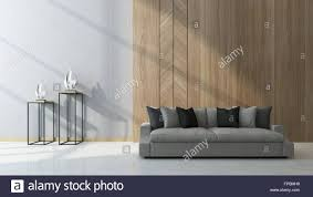 modern living room with wood paneling as a feature on the wall