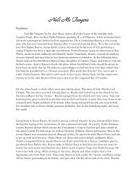 research paper about jose rizal a summary and review reflection of noli me tangere