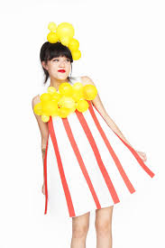 Water Halloween Costume Diy Popcorn Halloween Costume