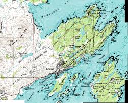 Maps Alaska by Kodiak Alaska Military History Maps