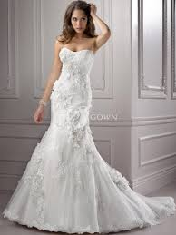 strapless wedding gowns strapless lace wedding dress with mermaid silhouette sang maestro