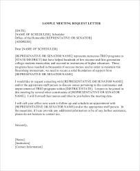 best ideas of how to write a letter request meeting sample on
