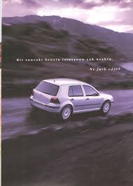 2002 volkswagen golf mk4 turkish brochure catalog page 6 20