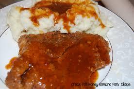 crock pot honey romano pork chops who needs a cape