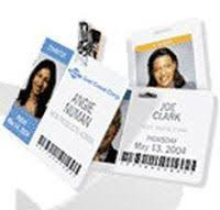 How To Make Employee Id Cards - online id badge maker and card printing service free templates