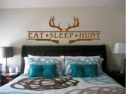 eat sleep hunt deer antler shotguns stickit stickers decals eat