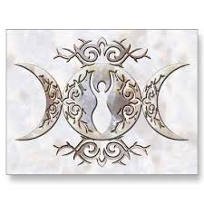 moon fertility goddess arts crafts tattoos