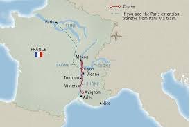 Map Of South Of France by Portrait Of Southern France Viking Tours
