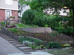 Sloped Backyard Ideas Awesome Small Sloped Backyard Ideas Garden Decors