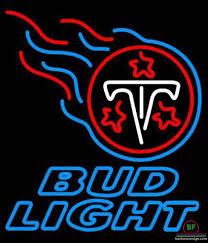 bud light neon signs for sale bud light tennessee titans neon sign nfl teams neon light for sale