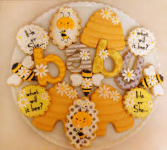 what will it bee baby shower what will it bee gender reveal baby shower cookies cookie