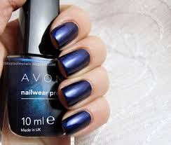 Inky Blue 49 Best Nailwear Images On Pinterest Avon Enamels And Shades