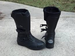 female motorbike boots motorcycle boot review tcx infiniti gtx