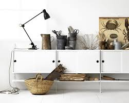 String Shelving by String Shelving System Sideboard