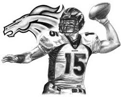 denver broncos logo the awesome web broncos coloring pages at