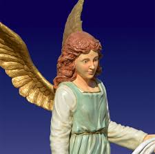 outdoor angel gloria life size statue christmasnightinc com