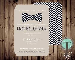 bow tie baby shower invitations marialonghi com