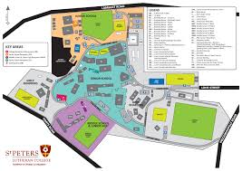St Paul Campus Map Playing Fields Villanova College
