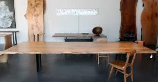 Wood Conference Table Reclaimed Wood Slab Conference Table On Designer Pages