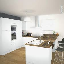 cuisines blanches et bois cuisine blanche et bois clair best of cuisine blanc bois gris