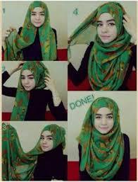simple hijab styles tutorial segi empat 4 amazing hijab tutorials hijab style pinterest tutorials