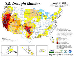 Santa Ana California Map Drought March 2015 State Of The Climate National Centers For