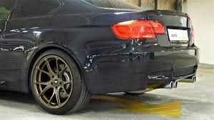 sporting credentials bmw e92 m3 equipped with vorsteiner v ff 103