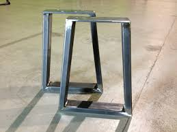 metal end table legs 450mm tapered bench legs each hairpins co za