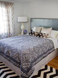 turn a coverlet into a duvet cover hgtv