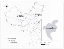 Guangzhou China Map by Entropy Free Full Text Land Use Planning For Urban Sprawl