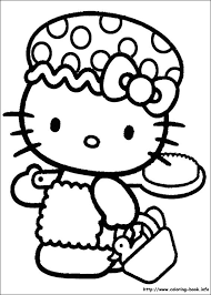 sarah u0027s super colouring pages hello kitty colouring pages