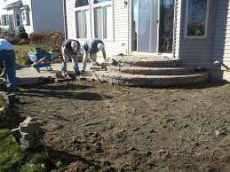 Average Cost Of Flagstone Patio by Paver Stone Patio Cost Insured By Laura
