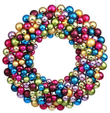 plastic ornament wreath 24 contemporary wreaths and