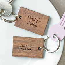 wooden gifts personalised wooden gift your keyring by create gift