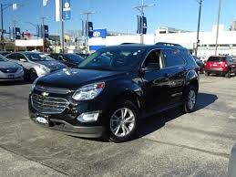 used 2017 chevrolet equinox black for sale in chicago mcgrath